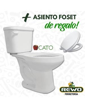 SANITARIO LUCAS WC TAZA TANQUE BLANCO