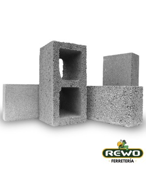 "BLOCK CONCRETO 15X20X40 6"" SUPER"